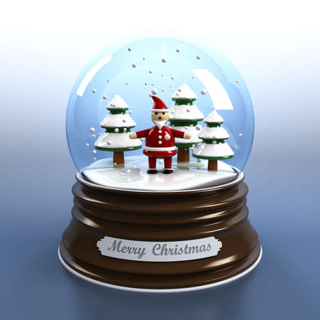 Snow globe Stock Photo - 8186299