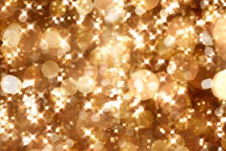 Golden lights photo