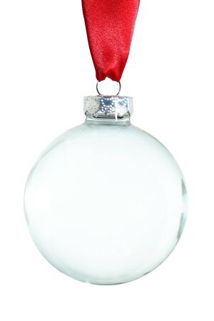 empty: Empty Christmas ornament