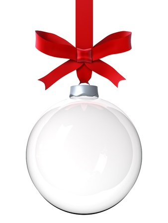 bauble: Empty Christmas ornament