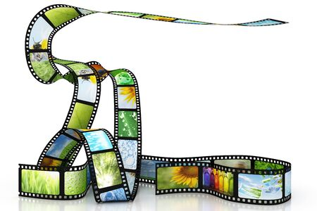 Film with images Stock Photo - 8670862
