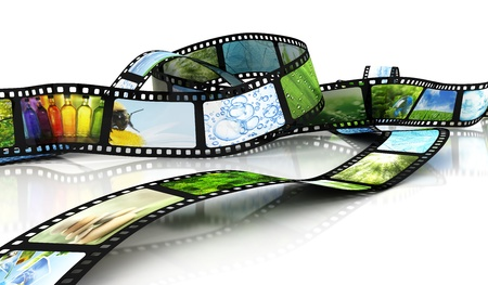 Film with images photo