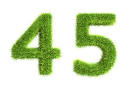 Grass numbers photo