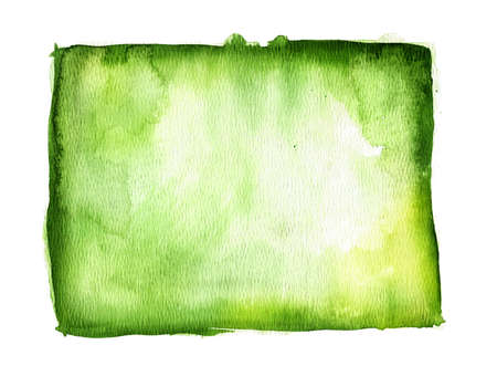 ink stain: Green watercolor background