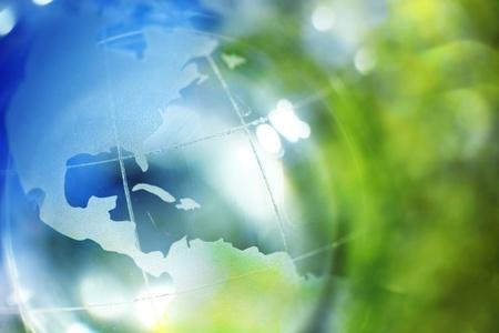 erde gelb: Blaue und gr�ne Erde Hintergrund