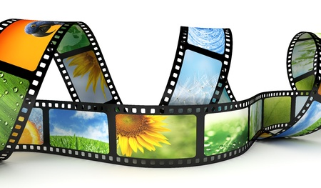 Film with images Stock Photo - 10182812