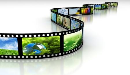 Roll film: Pel�cula con im�genes