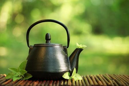 tea kettle: Tea Stock Photo