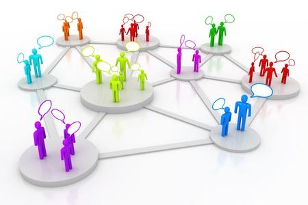 societies: People Talking