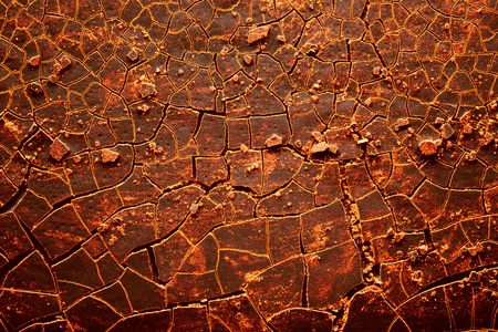 embers: Red hot cracked earth