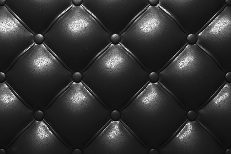 leather texture: Buttoned leather