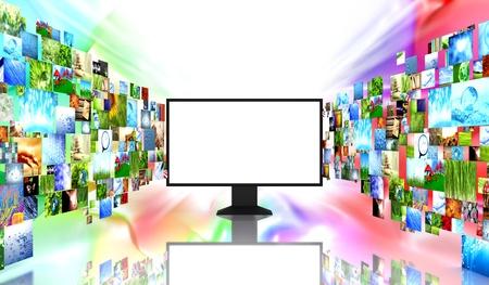definicion: TV con imágenes
