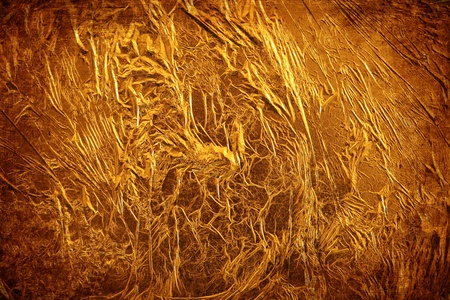 shiny gold: Gold leaf
