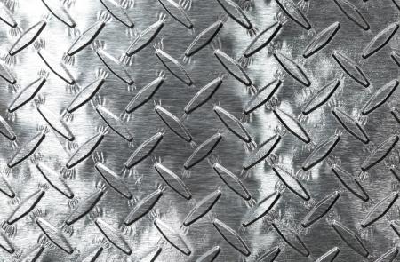Shiny diamond plate background Stock Photo - 10486914