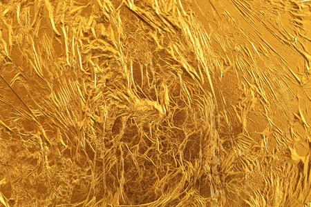 Gouden blad Stockfoto