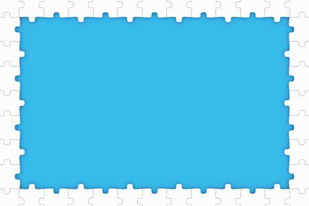 missing puzzle piece: Puzzle pieces frame