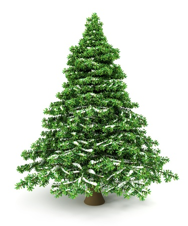 Nevado del árbol de navidad