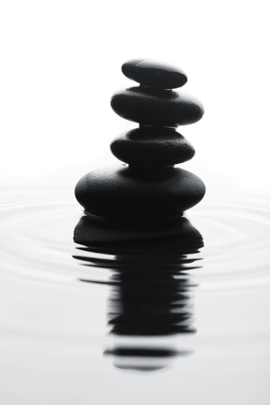 Stones in water Reklamní fotografie