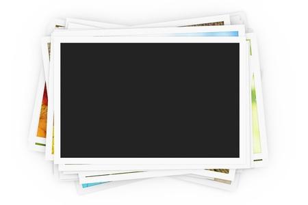 Stapel von Fotos