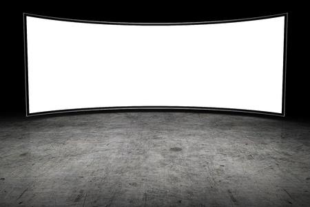 큰 빈 TV