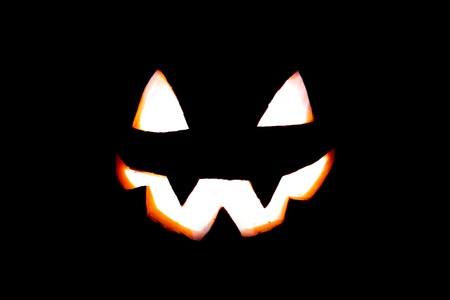 Jack-o'-lantern face Stock Photo - 15832802