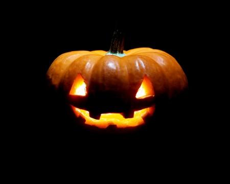 Jack-o-lantern photo