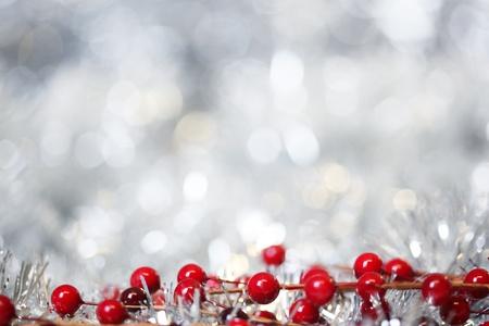 noel argent�: Argent Christmas background