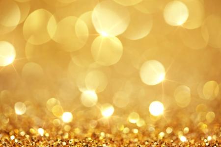 shiny gold: Shiny golden lights