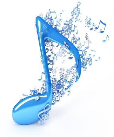 musical note: Music notes