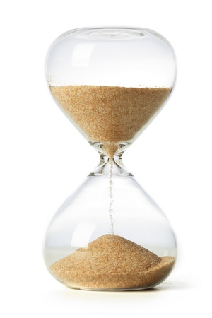 glasses in the sand: Hourglass