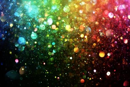 Regenboog van verlichting