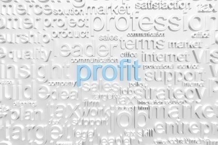 creativity: Business text background Stock Photo