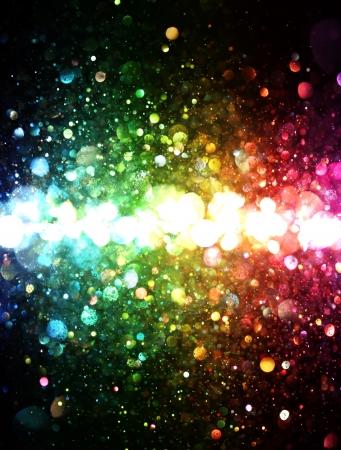 ライトの虹