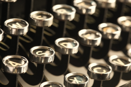 typewriter key: Vintage typewriter keys
