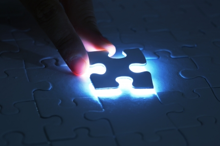Last puzzle piece photo