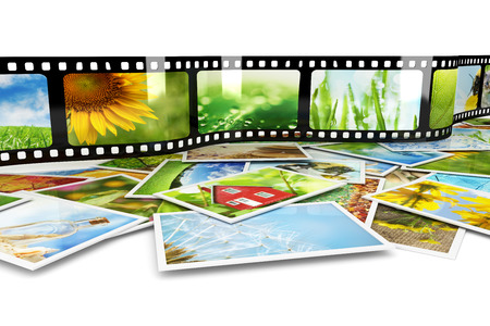 Photos and film with images