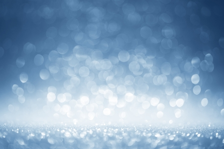 Glittering blue background Stock Photo