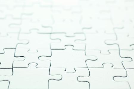 Lege witte puzzel