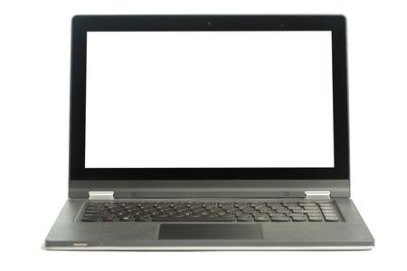 Open blank laptop 版權商用圖片