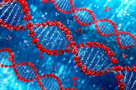 genomes: DNA background Stock Photo