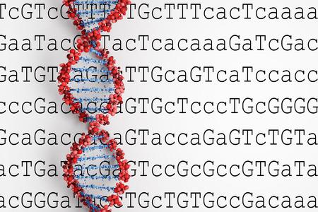 DNA-Hintergrund Standard-Bild - 28448062