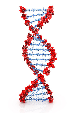 DNA achtergrond Stockfoto