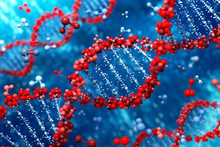 DNA background photo
