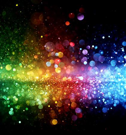 Rainbow of lights Foto de archivo
