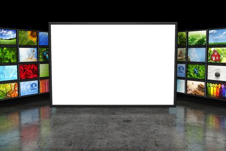 画像をテレビ画面