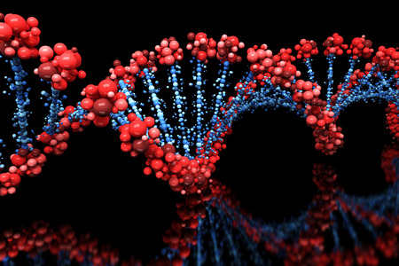 DNA background Banco de Imagens