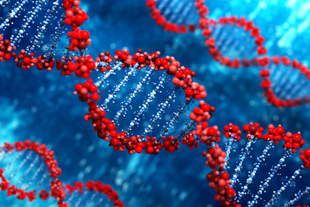 ADN de fondo Foto de archivo - 29819739