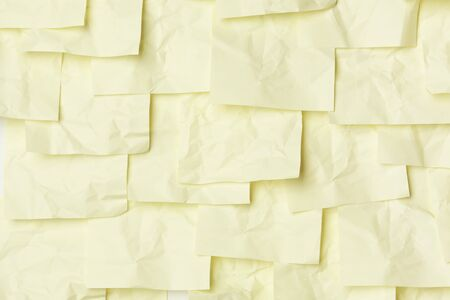 Yellow sticky note background