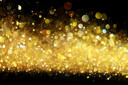 gold abstract: Gold glitter