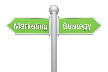 Street signpost - Marketing & Strategy photo